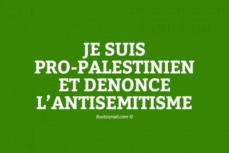 Lorsqu'un pro-palestinien dénonce l'antisémitisme des pro-palestiniens